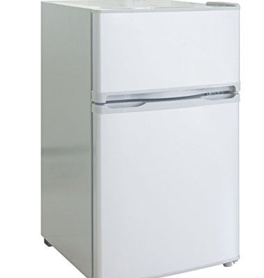 Rca Igloo 3 2 Cubic Foot 2 Door Fridge And Freezer White