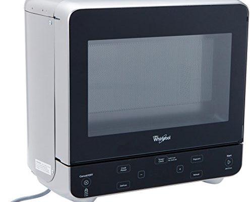 Whirlpool Stainless Look Countertop Microwave 0 5 Cu