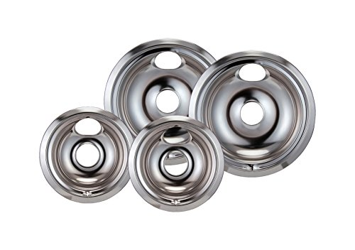 Stanco 4 Pack Ge Hotpoint Electric Range Chrome Reflector