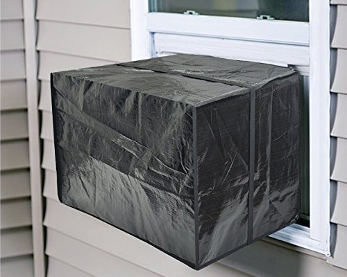 Jeacent window air conditioner cover small heavy duty kitchenter for Window air conditioner covers exterior