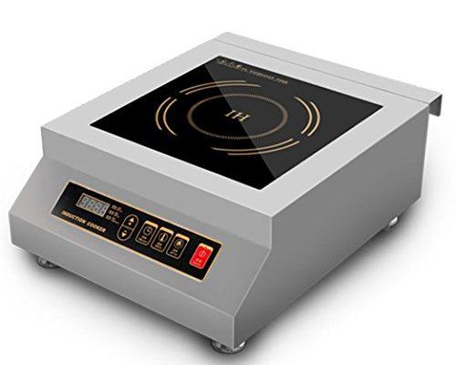 5000 Watt Countertop Commercial Induction Cooktop Burner