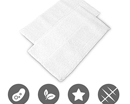 Microfiber Cleaning Pads Set Of 2 Mop Pads Washable