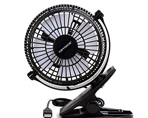 Keynice usb clip desk personal fan table fans clip on fan for Bca table 1 1 1 design wind speed