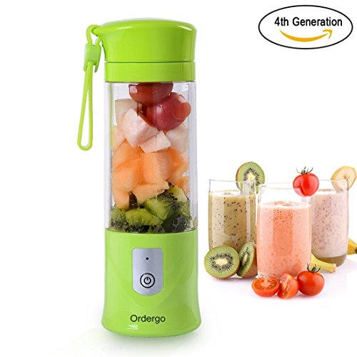 Convenient: small and light weight, charge with USB powered port, good for outdoor, sports and traveling.3. Durable & food grade materials: food grade ...