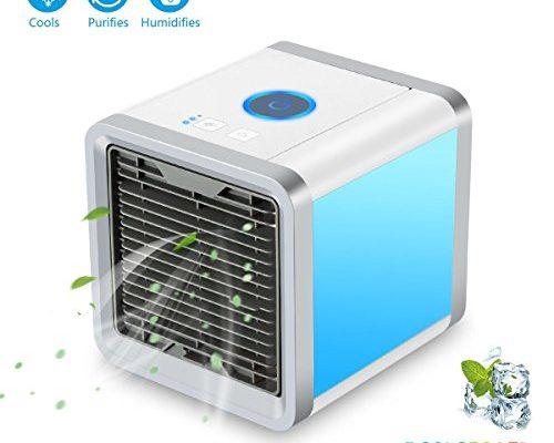 Mini Portable Air Cooler 6 7 Inch Personal Desktop Air