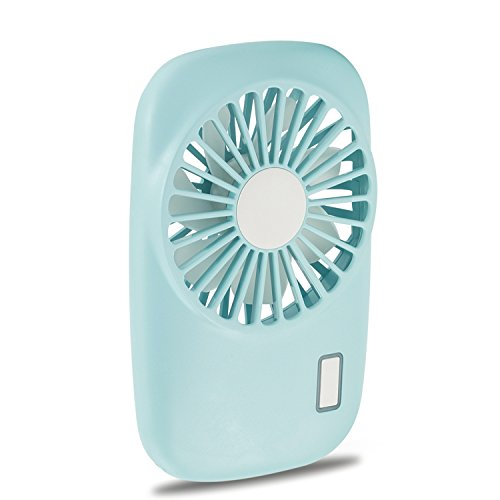 Color : Pink USB Table Desk Personal Fan Summer USB Mini Charging Fan Palm Air Conditioner Small Electric Outdoor Handheld Pocket Portable Fan for Home Office Table
