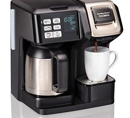 Hamilton Beach 49966 Coffee Maker With Thermal Carafe Single Serve