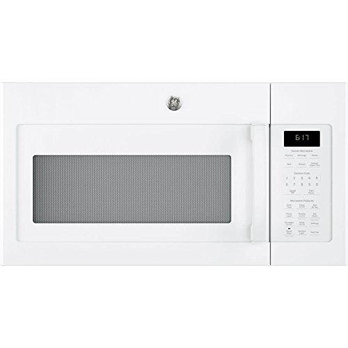 Ge 1 7 Cu Ft White Over The Range Microwave Oven Kitchenter