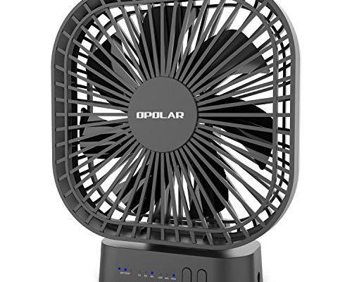 Color : Blue, Size : Free Size Mini Fan Operated Clip On Mini Desk Fan USB Powered 120/° Rotation Clip On Fan Quiet for Home Office for Home and Oudoor