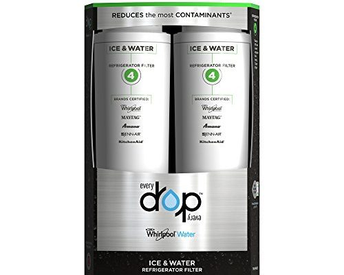 Everydrop By Whirlpool Refrigerator Water Filter 4 Pack Of