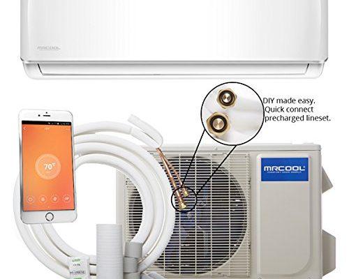 Mrcool Diy 18k Btu 16 Seer Ductless Mini Split Heat Pump W