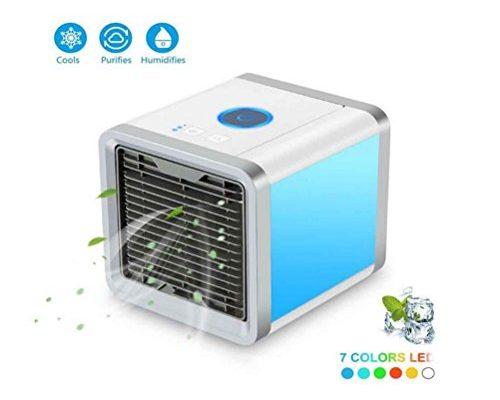 Ghq Mini Air Cooler Portable Air Conditioner Air Cooler