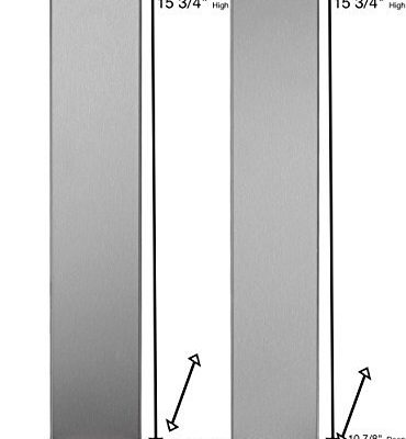 Universal Stainless Steel Over The Range L Shaped