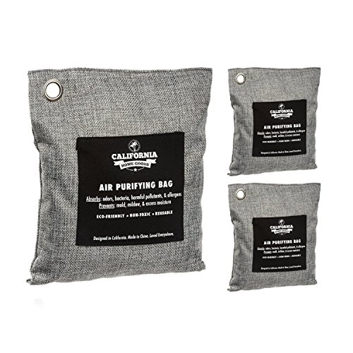 4-Pack Activated Bamboo Natural Air Freshener Bags ...