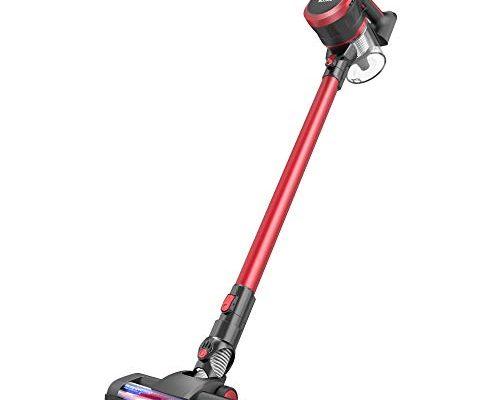 Moosoo Cordless Vacuum Cleaner 2 In 1 Stick Vacuum With