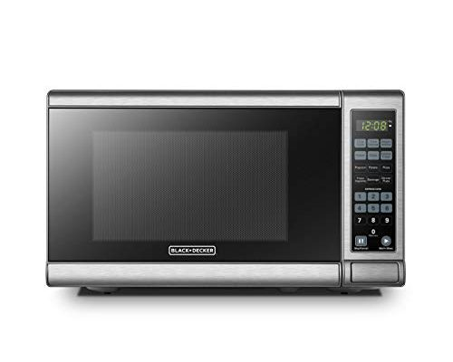 Black Decker Em720cb7 Digital Microwave Oven With